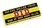 D.I.D(大同工業)バイク用チェーン クリップジョイント付属 420D-104RB STEEL(スチール) 二輪 オートバイ用