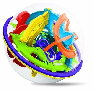 Súper Maze Ball (verde / naranja / púrpura / color de rosa / amarillo / azul) de Peers Hardy