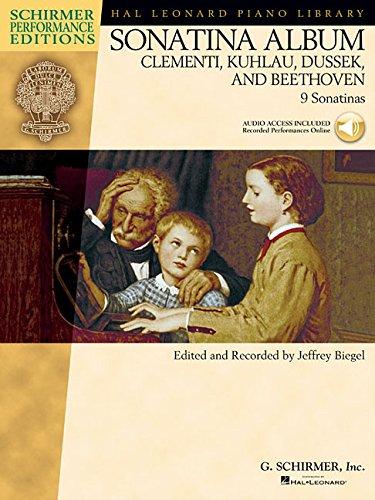 Sonatina Album (ed. Biegel): 1 (Hal Leonard Piano Library Schirmer Performance Editions)