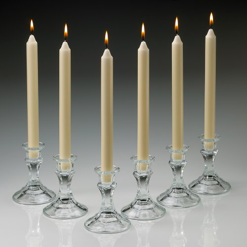 Unscented Taper Candles (Set of 10) Color: Ivory