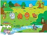 Ingenio Bilingual Learning Puzzle - Animals