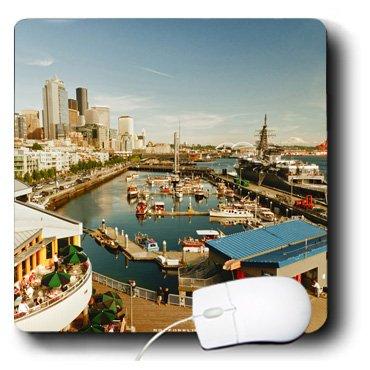Danita Delimont - Seattle - USA, Washington, Seattle, Bell Street Pier - US48 RDU0473 - Richard Duval - MousePad (mp_148496_1)