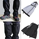 BlingKingdom Waterproof Walking Gaiters Gators Boot Hiking Climbing Camping Leggings Trekking Cover