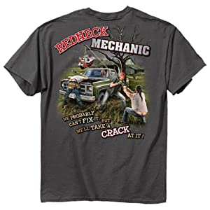 Redneck Mechanic T-shirt Probably Can't Fix It