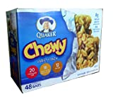 Quaker Chewy Granola Bars Variety Pack, 40.6 Ounce