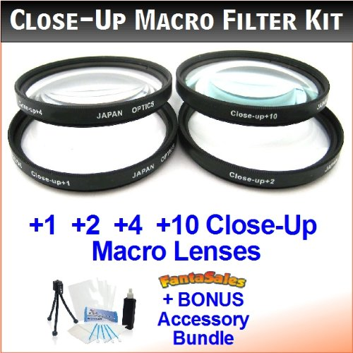 Close Up Macro Filter 62mm 4 for Pentax 18-135mm 18-250mm Lens Accessory