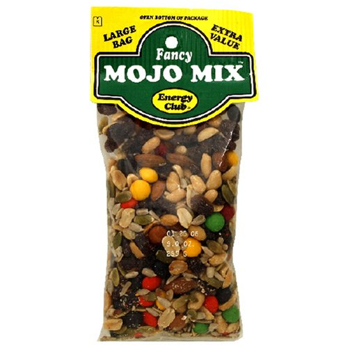 Buy Energy Club Fancy Mojo Mix, 8-Ounce Bags (Pack of 12) (Energy Club, Health & Personal Care, Products, Food & Snacks, Snacks Cookies & Candy, Snack Food, Trail Mix)