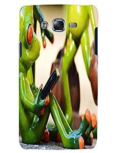 Bagsfull Designer Printed Hard Matte Back Cover Case Samsung Galaxy J7
