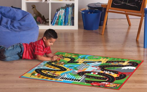 Disney Pixar Cars 2 Floor Mat Racing Play Rug Role Play