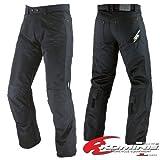 コミネ(KOMINE) 07-710 PK-710 メッシュライディングジーンズ2 ブラック Lサイズ