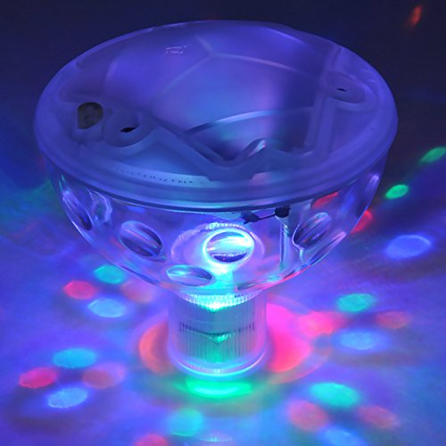Sunsbell Underwater Light Show Floating Led Ball Swimming Pool Spa Parties Decoration