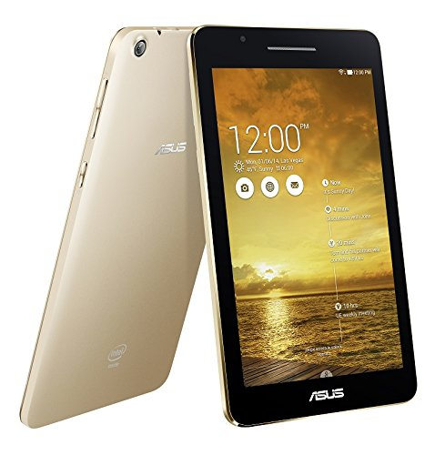 ASUS MeMO Pad 7 ME171C ゴールド ( Android 4.4.2 / 7inch / Atom Z2520/ RAM 1GB / eMMC 16GB / BT4.0 / Wi-Fi 対応 ) ME171C-GD16