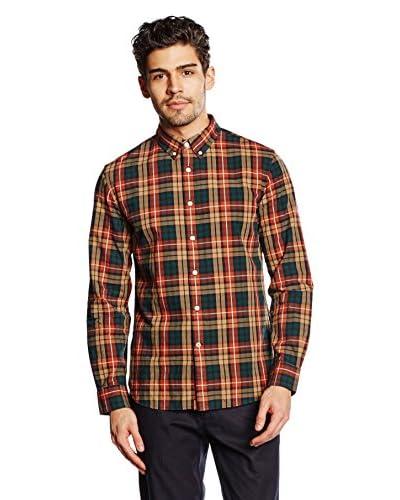 Dockers Camisa Hombre Ls Alpha Big Tartan Oxford Multicolor