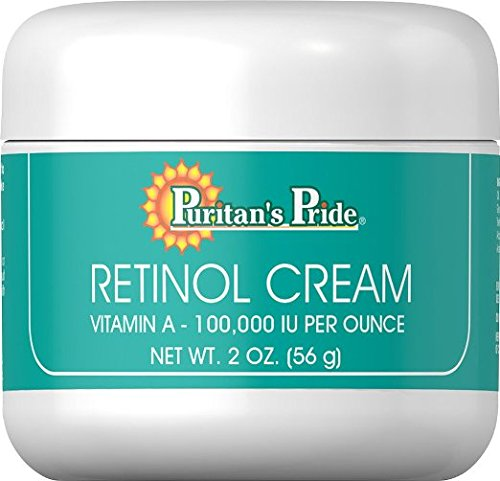 Retinol Cream, 2 oz, A 100,000 IU per oz