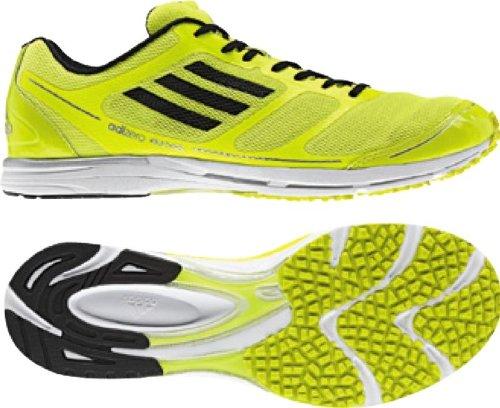 Adidas - Adizero Hagio Unisex Shoes In Electricity/Black/Metalic Silver, Size: 10 D(M) US Mens / 12 B(M) US Womens, Color: Electricity/Black/Metalic Silver