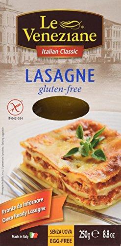 Le Veneziane Gluten Free Lasagne Sheets 250 G 1 Pack (Lasagne Pasta compare prices)