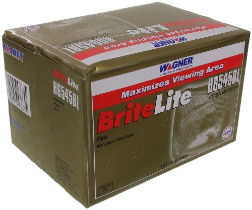 Wagner H6545 BriteLite Headlight Bulb, Pack of 1