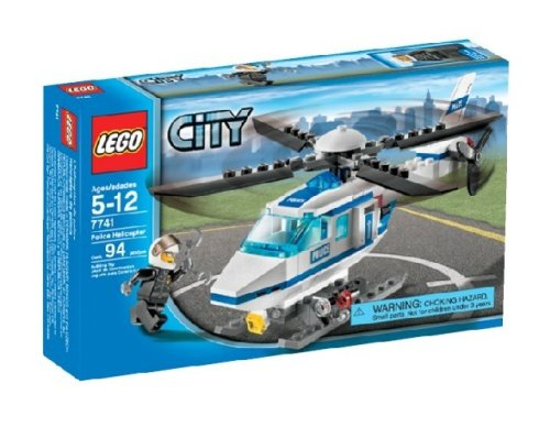 LEGO City Police Helicopter 7741 Amazon.com