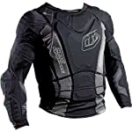 Troy Lee Designs BP 7855-HW Long Sleeve Shirt Adult Undergarment MX/Off-Road/Dirt Bike Motorcycle Body Armor - Large