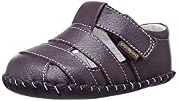pediped Originals Ross Sandal (Infant), Chocolate, Medium (12-18 Months E US Infant)