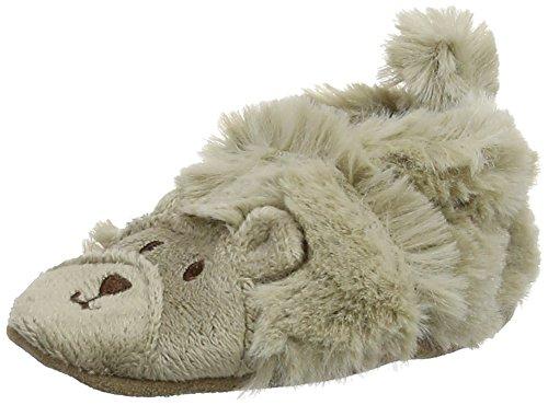 Robeez FUZZY BEAR, Scarpine prima infanzia a forma di orsetto Unisex - bambino, Marrone (Braun (Brown 9)), 17-18 (1 uk)