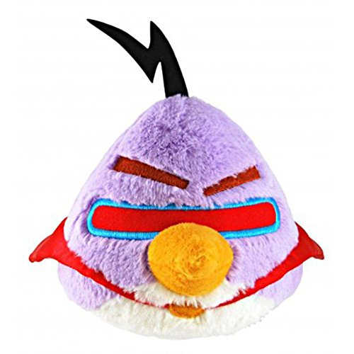 "Angry Birds 5"" Purple Space Bird Plush Officially Licensed - 1"
