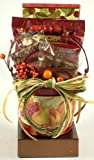 Autumn Sampler | Gourmet Fall Gift Basket of Cocoa, Fudge, and Cookies