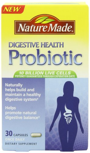 凑单品:Nature Made Digestive Health Probiotics 肠道益生菌 30粒 $9.93(需Coupon)