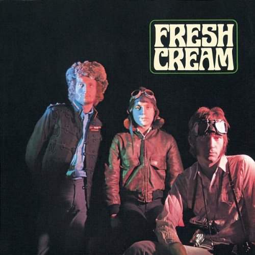 Original album cover of Fresh Cream by Cream