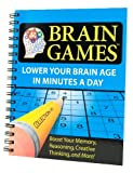 img - for Brain Games #1: Lower Your Brain Age in Minutes a Day (Brain Games (Numbered)) book / textbook / text book