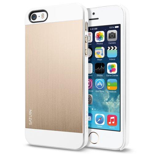 国内正規品SPIGEN SGP iPhone5/5S ケース サターン [シャンパンゴールド] SGP10570
