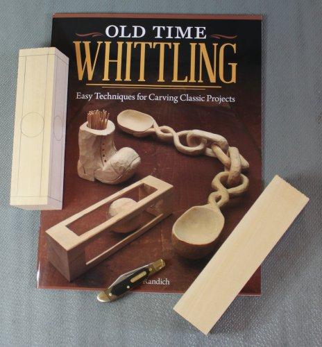 Old Time Whittling Kit