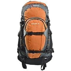 Chinook Boulder Internal Frame Technical Daypack, Orange, 45-Liter by Chinook