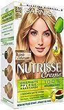 Garnier Nutrisse Creme Pflegende Intensiv-Coloration, 8.32 Natürlich Schimmerndes Goldblond, 3er Pack (3 x 1 Stück)