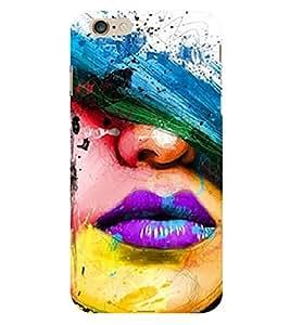 Vizagbeats Holi Lips Back Case Cover for Apple I Phone 6S Plus