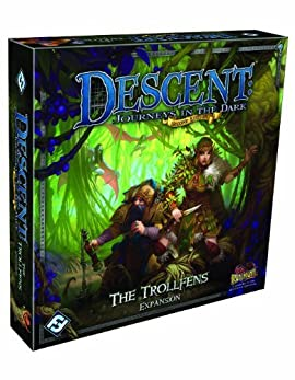 Descent Second Edition: The Trollfens Expansion [Paperback]