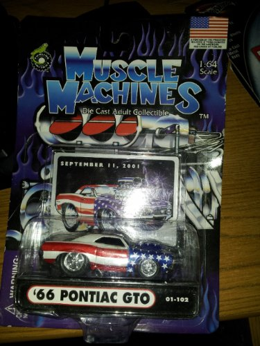 Muscle Machines 66 Pontiac GTO with Scoop September 11 Card - 1