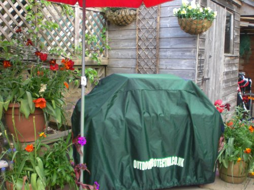 BARBECUE COVERS QUALITY HEAVY DUTY WATERPROOF MATERIAL MEDIUM SIZE