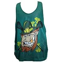 Pinnie Lucky Leprechaun Irish St. Patty's Patricks PINNY Tank Top Adult S/M
