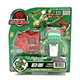 TADOR Green-Turning Mecard Transforming Robot Car Toy by TURNING MECARD
