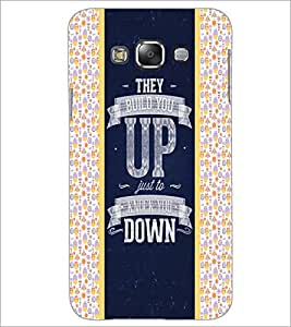PrintDhaba Quote D-4821 Back Case Cover for SAMSUNG GALAXY A7 (Multi-Coloured)