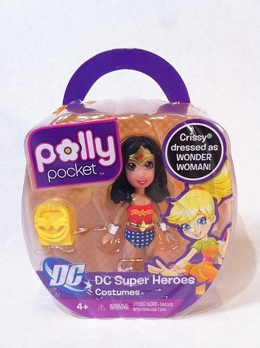 Polly Pocket Heroes Crissy dressed