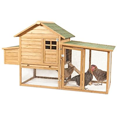 Aspen Pet 43102 Peak Roof Complete Chicken Coop