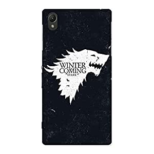 Gorgeous Comming Of Winter Back Case Cover for Sony Xperia Z1