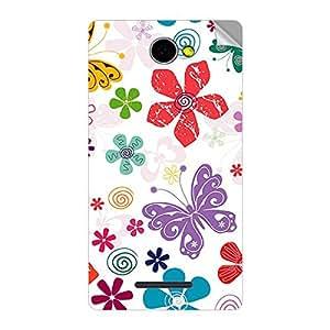 Garmor Designer Mobile Skin Sticker For Panasonic P55 - Mobile Sticker