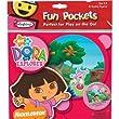 Colorforms Fun Pockets Dora The Explorer
