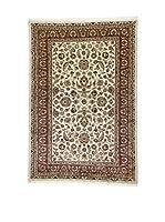 L'Eden del Tappeto Alfombra Kashmirian F/Seta Rojo / Beige / Verde 183  x  125 cm
