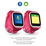 NEW-VERSION-TickTalk-10S-Touch-Screen-Kids-Wearable-tracker-wrist-Phone-w-GPS-locator-Controlled-by-Apple-and-Android-phone-APP-Including-1-FREE-MONTH-w-T-MOBILE-NETWORK-pink