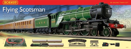 Hornby  R1072 Flying Scotsman 00 Gauge  Train Set