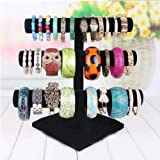 Market-one Three-tier Lint Stand Holder Display Rack Black For Jewelry Bracelet